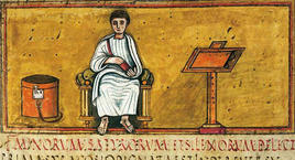 Vergilius Romanus Codex. (Image supplied by the author)