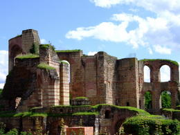 Imperial Baths, Trier (Treviri). (Image supplied by the author)