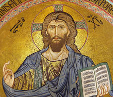 Pantocrator of Cefalù (Sicily). (Image supplied by the author)