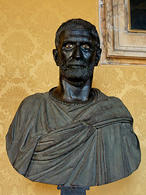 Capitoline Brutus , believed to be the founder of  the republic, IV sec B.C. (Capitolini Museum). (Image supplied by the author)