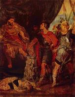Muzio Scevola and Porsenna, Rubens. (Image supplied by the author)