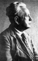 Ernest Cassirer (1874-1945). Immagine da:  Wikimedia