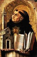 S. Tomamso d'Aquino (1221-1274). Immagine da: Wikimedia