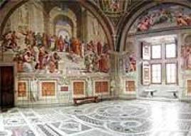 Veduta della Stanza. Fonte:  Musei Vaticani