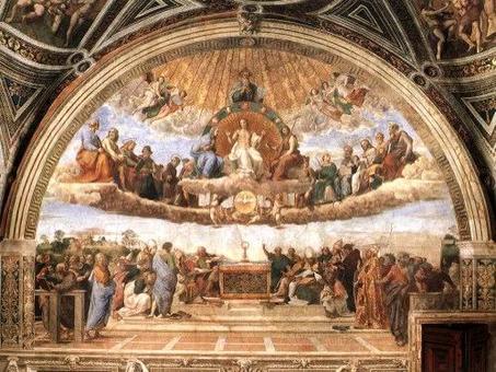 Raffaello, Stanza della Segnatura. Fonte: Musei Vaticani