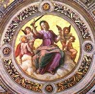 Raffaello, La Giustizia. Fonte: Italica.rai.IT