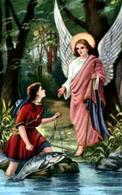 Santino: Tobiolo e l'Arcangelo Raffaele Cfr. Fonte: Santi e Beati
