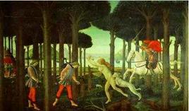 Storia di Nastagio degli Onesti. Fonte: Ravenna turismo e Cultura