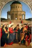Raffaello, Sposalizio della Vergine. Fonte:  Storia dell'Arte.com