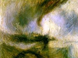 Turner, Tempesta. Fonte:  Artcyclopedia