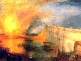 Turner incendio. Fonte:  Artcyclopedia