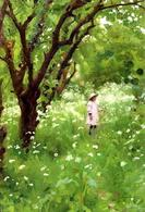 The Orchard (1887) di Thomas Cooper:  Thomas Cooper Gotch  (1854-1931). Fonte:  Wikipedia