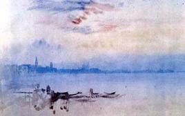 Turner, Venice.  Fonte: Artcyclopedia
