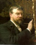 L. Alma Tadema, Autoritratto. Fonte:  Wikipedia