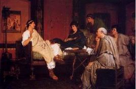Lawrence Alma Tadema, Tibullo da Delia. Fonte:  Wikipedia