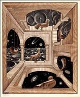 M. C. Escher, Altro mondo. Fonte:  Kainos