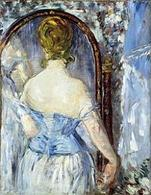 Edouard Manet, Before the Mirror, 1876. Fonte:  Mtholyoke.edu