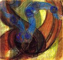 Frantisek Kupka, Study for Amorpha, Warm Chromatic and for Fugue in Two Colors, 1910- 1911. Fonte:  Guggenheim Venice