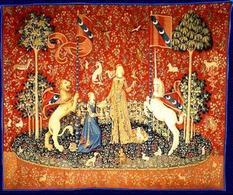Gusto dal ciclo La Dame à la Liocorne (1484 – 1500), Musée National du Moyen Age, Parigi. Fonte:  Nazione Indiana