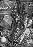 Albrecht Durer, Melanconia. Fonte:  Pergioco