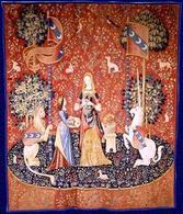 Odorato – dal ciclo La Dame à la Liocorne (1484 – 1500), Musée National du Moyen Age, Parigi. Fonte:  Nazione Indiana