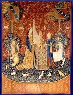 Udito dal ciclo La Dame à la Liocorne (1484 – 1500), Musée National du Moyen Age, Parigi. Fonte:  Nazione Indiana