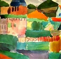 Klee, Nella casa di Saint Gerrmain. Fonte: Pintura