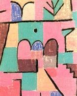 Klee Giardino orientale. Fonte: Pintura