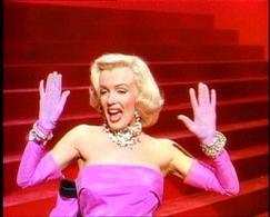 Marilyn Monroe, Gli uomini preferiscono le bionde. Fonte: Wikipedia