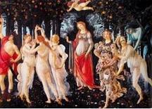 Botticelli, La Primavera. Fonte: Abm Enterprises