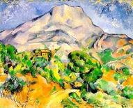 Cezanne, Mont Sainte Victoire. Fonte: Science and Modernism