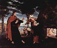 Noli me tangere di Hans Holbein il Giovane. Fonte: Wikipedia