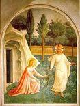 Noli me tangere di Beato Angelico. Fonte: Wikipedia