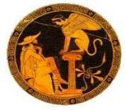 Edipo e la sfinge. Fonte: Appunti e ricerche