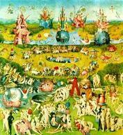 Hieronymus Bosch, Il giardino delle delizie (Pannello centrale). In un intero, tante narrazioni. Fonte: Wikipedia