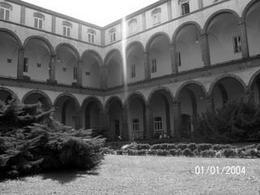 Cortile del Convento di  San Pietro Martire. Foto personale