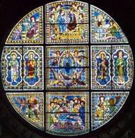 Vetrata della cattedrale di Siena.  Fonte: Guida Toscana