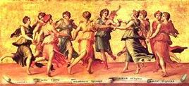 Apollo e le Muse. Fonte: Picasaweb