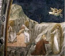 Giotto Noli me tangere. Fonte: Wikimedia