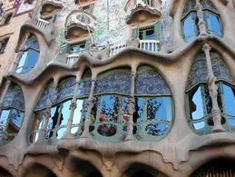 Casa Batllò, vetrata. Fonte: immagine personale.