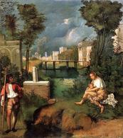 Giorgione, La Tempesta. Fonte: Wikipedia