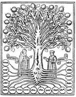 Raimondo Lullo. Copertina dell'Arte della Memoria. Fonte: La Musica e la Memoria