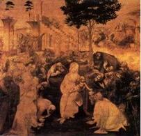Leonardo, Studio per l'adorazione dei Magi. Fonte: Istituto Maserati