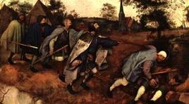 Bruegel il Vecchio, La parabola dei ciechi, 1568, Napoli, Capodimonte. Fonte: Wikipedia