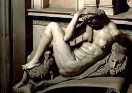 Michelangelo, La Notte, (particolare). Fonte: Corbis Images