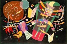 Kandinsky 1939 Composition-X. Fonte: Wikipedia