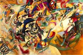 Kandinsky WWI Composition VII. Fonte: Wikipedia
