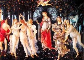 Botticelli, La Primavera. Fonte: Liceo Colombo