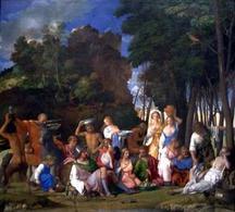 Giovanni Bellini (Il Gianbellino), Il festino degli Dei. Fonte: Wikipedia