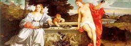 Tiziano, Amor Sacro e Amor profano. Fonte: Galleria Borghese
